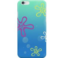 SpongeBob SquarePants - Flower Clouds iPhone Case/Skin