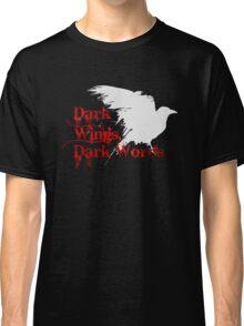 Dark Wings, Dark Words Classic T-Shirt