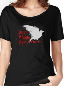 Dark Wings, Dark Words Women's Relaxed Fit T-Shirt
