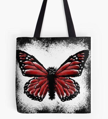 Butterfly Brushstrokes Tote Bag