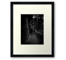Ghostly Brisbane Framed Print