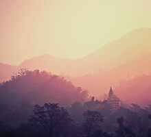 Temple in Rishikesh - India by lifefilm2010