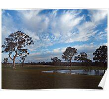 Rural Landscape --  Southern NSW  -  Australia Poster