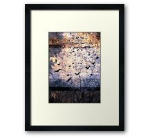 Composition With Ghosted Birds, Trees and Sky  Framed Print