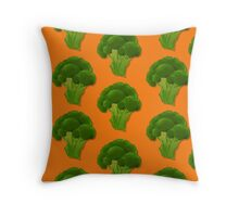 FOREVER Broccoli Throw Pillow