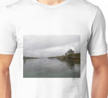 Blue Boat - Rutland Island - Donegal -  Ireland Unisex T-Shirt