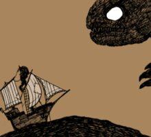 Leviathan & Ship Variant Sticker