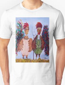 American Gothic - Down on the Farm T-Shirt