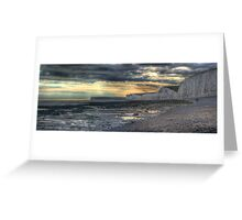 Seven Sisters - HDR Panorama Greeting Card