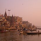 Varanasi morning by pennyswork