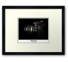 Canon 550D Side show Framed Print