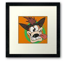 Crash Bandicoot - Classic PlayStation Framed Print