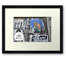 Straight outta Bedstuy Framed Print