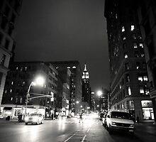 Night - New York City by Vivienne Gucwa