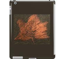 Sycamore Leaf iPad Case/Skin