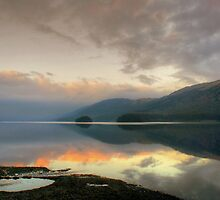 Coniston at Dusk by Jamie  Green