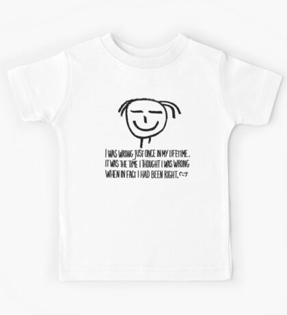 my personal quote Kids Tee