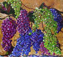 Festival of Grapes by EloiseArt