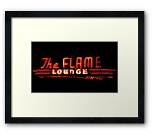 The Flame Framed Print