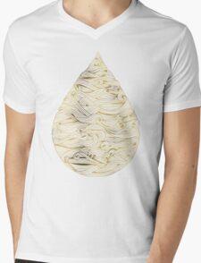 Molten Gold Mens V-Neck T-Shirt