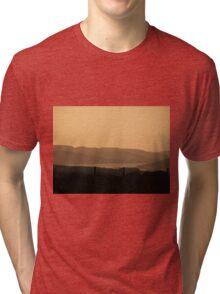 Mellow Evening over Donegal Ireland Tri-blend T-Shirt