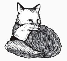 Sitting fox Kids Clothes