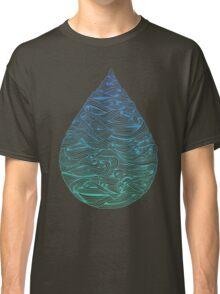 Ombré Droplet Classic T-Shirt