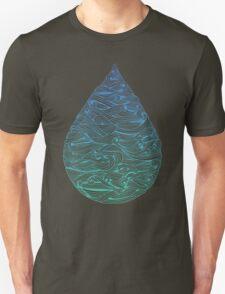 Ombré Droplet Unisex T-Shirt