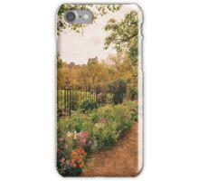 English Garden - Oxford - England iPhone Case/Skin