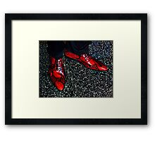 Close your eyes, tap your heels together three times  and think to yourself,  there's no place like home! Framed Print