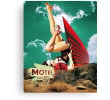 No tell motel Canvas Print