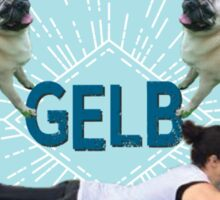 It's Gelb Time Sticker