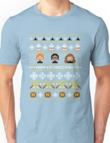 Magical Ugly Christmas Sweater + Card Unisex T-Shirt