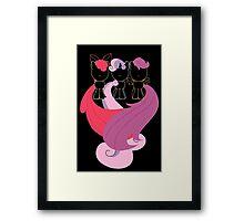 Minimalist Cutie Mark Crusaders Framed Print
