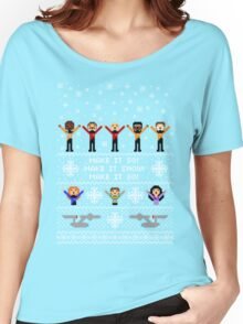 Next Ugly Space Christmas Sweater Women's Relaxed Fit T-Shirt