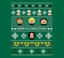 Evil Magical Ugly Christmas Sweater + Card Unisex T-Shirt