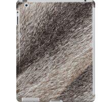 River rat coypu or nutria rough fur texture iPad Case/Skin