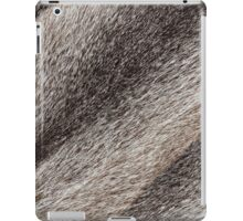 River rat coypu or nutria rough fur texture iPad Case/Skin