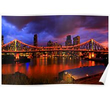 The bridge, the city & the river Poster
