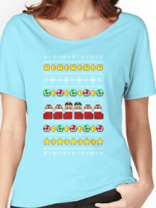 Super Ugly Christmas Sweater + Card Women's Relaxed Fit T-Shirt