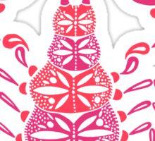 Pink Scorpion Sticker