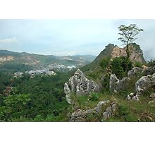 karst mountain Photographic Print