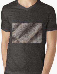 River rat coypu or nutria rough fur texture Mens V-Neck T-Shirt