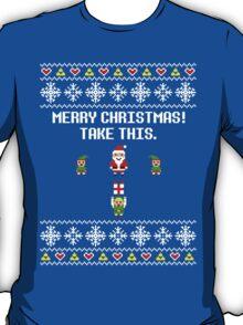 Dangerous Christmas Sweater + Card T-Shirt