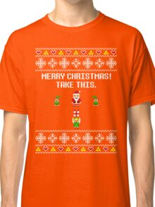 Dangerous Christmas Sweater + Card Classic T-Shirt