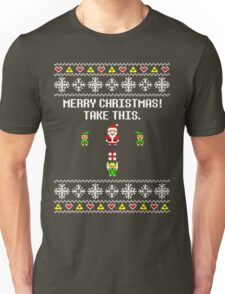 Dangerous Christmas Sweater + Card Unisex T-Shirt