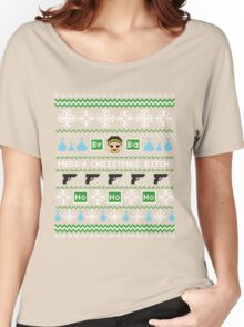 Merry Christmas Bitch Sweater + Card Women's Relaxed Fit T-Shirt