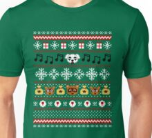 Animal Town Christmas Sweater + Card 2 Unisex T-Shirt