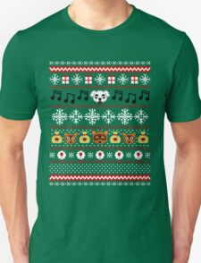 Animal Town Christmas Sweater + Card 2 T-Shirt