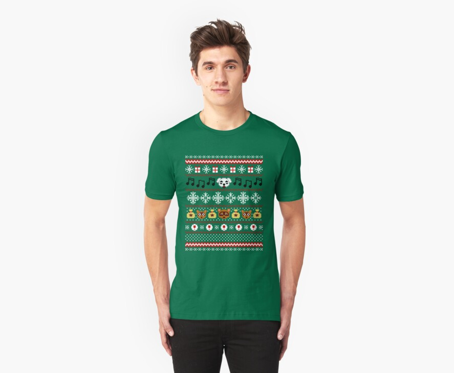 Animal Town Christmas Sweater + Card 2 by rydiachacha